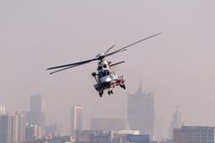 EC225 ratuneku helikopter Fotografia Royalty Free