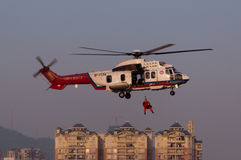 EC225 Rescue helicopter Royalty Free Stock Image