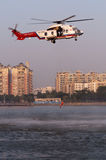 EC225 Rescue helicopter Royalty Free Stock Photos