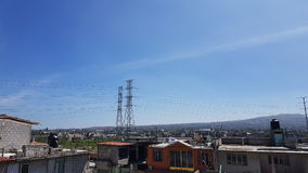 Ecatepec contiene México Foto de archivo