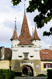 Ecaterina gate in Brasov Royalty Free Stock Photo