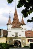 Ecaterina gate in Brasov royalty free stock photo
