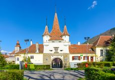 Ecaterina gate in brasov, romania Royalty Free Stock Image