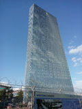 ECB (European Central Bank) tower Stock Image