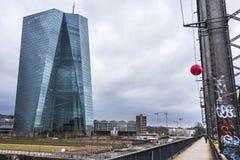 ECB - Europese Centrale Bank stock foto