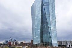 ECB - Europese Centrale Bank royalty-vrije stock afbeelding