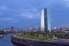 ECB Frankfurt Stock Images