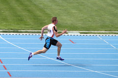 ECCC-Leichtathletik-Jüngere gruppieren A Lizenzfreies Stockfoto