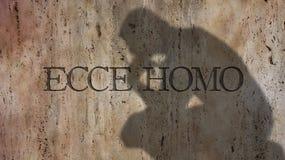 Ecce Homo Ett latinskt uttryck Arkivfoton