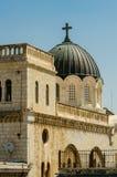 Ecce Roman Catholic Convent dans la vieille ville de Jérusalem, Israël photos libres de droits