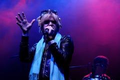 The eccentric Ariel Pink's Haunted Graffiti band performs at Sant Jordi Club Royalty Free Stock Image