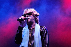 The eccentric Ariel Pink's Haunted Graffiti band performs at Sant Jordi Club Royalty Free Stock Images