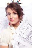 Eccentric designer Stock Photography