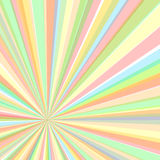Eccentric rays background, vector illustration  Stock Images