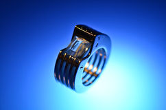 Eccentric ring Royalty Free Stock Images