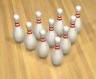 Eccitamento di bowling illustrazione di stock