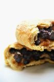 Eccles cakes stacked Stock Photos