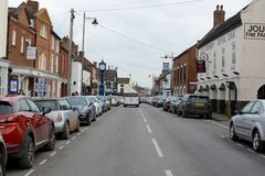 Eccleshall Town Royalty Free Stock Images
