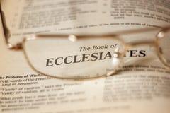 ecclesiastes Imagem de Stock