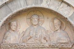 Ecclesiastical art Stock Photo