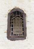Ecclesiastical window Stock Image