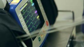 ECG屏幕显示 影视素材