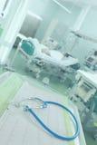 ECG и стетоскоп на пациентах предпосылки строго больных Стоковые Изображения RF