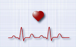 ECG EKG royalty free stock images
