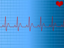 Ecg ekg Royalty Free Stock Image