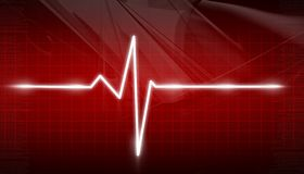 ECG Electrocardiogram Stock Photo