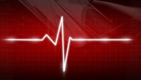 ECG Electrocardiogram. Digital illustration of ECG Electrocardiogram Stock Photo