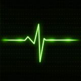 ECG Electrocardiogram. Digital illustration of ECG Electrocardiogram Royalty Free Stock Images