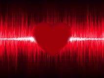 ECG Electrocardiogram with heart beat. EPS 8 Stock Photo