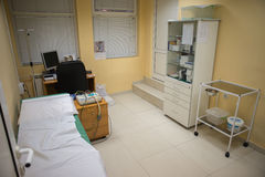 ECG hospital room Royalty Free Stock Photo