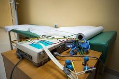 ECG-Krankenhauszimmer Stockfotos