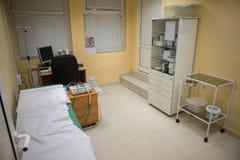 ECG-Krankenhauszimmer Lizenzfreies Stockfoto