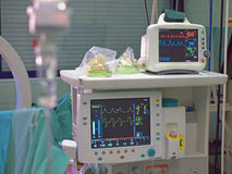 ECG monitor Stock Images