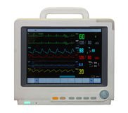 ECG monitor Fotografia Stock