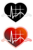 ECG Symbol - Illustration Stock Photography