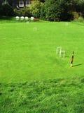Echada del croquet Imagen de archivo