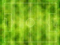 Echada del fútbol Imagen de archivo libre de regalías