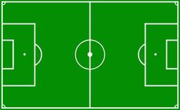 Echada del fútbol Fotos de archivo