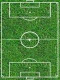 Echada del fútbol imagen de archivo
