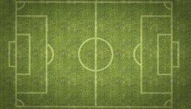 Echada del fútbol del fútbol Imagen de archivo libre de regalías