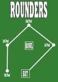 Echada del Rounders Imagenes de archivo