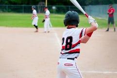 Echada que espera del jugador de béisbol para Fotos de archivo libres de regalías
