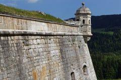Echauguette in Fort de Joux Stock Images