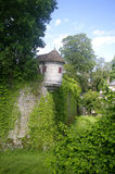 Echauguette in the ramparts of Beaune royalty free stock images