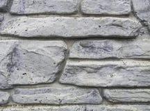 Eche la cerca figurada del cemento La textura de las tejas de piedra imagen de archivo libre de regalías