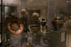 Eche la galería en el museo de Ashmolean, Oxford Imagen de archivo libre de regalías
